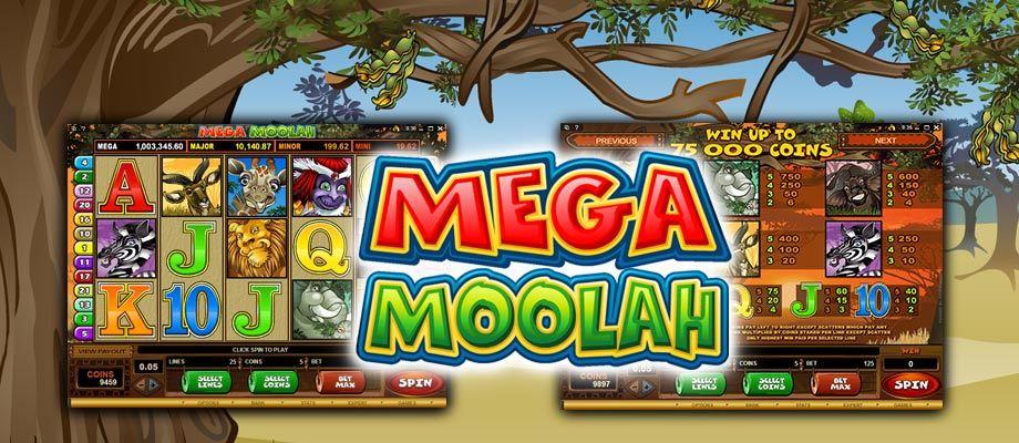 mega moolah progressieve jackpot gokkast