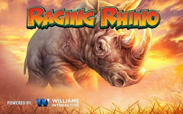 raging rhino gokkast veel geld winnen