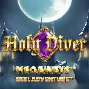 holy diver megaways slot logo