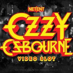 Ozzy Osbourne slot review netent logo