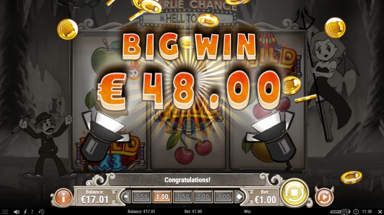 charlie-chance-in-hell-to-pay-video-slot big win