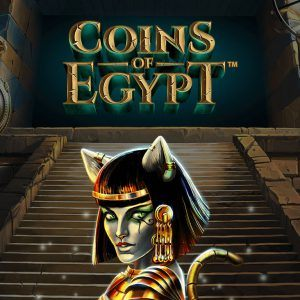 Coins of Egypt Netent slot review logo
