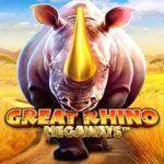 great-rhino-megaways-slot-logo pragmatic play
