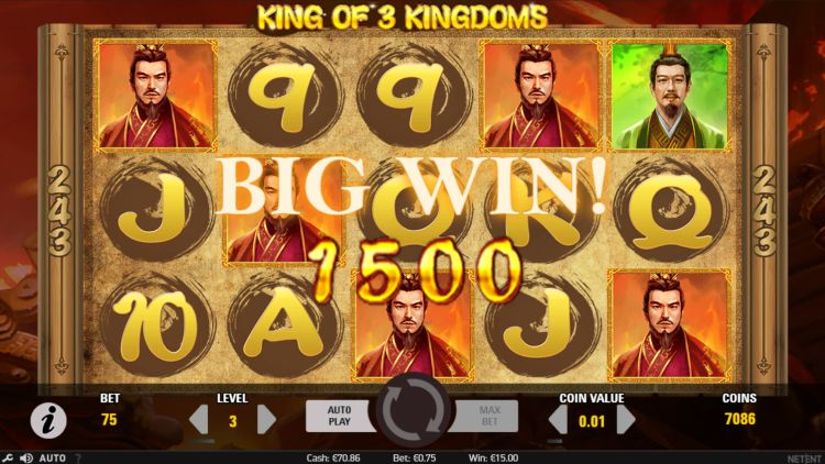 King of KIngdoms slot review netent