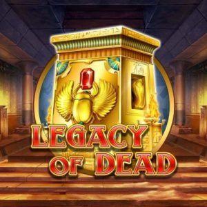 Legacy of dead slot play n go logo