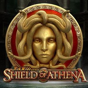 Rich Wilde shield of athena slot play n go logo