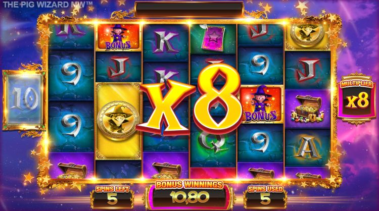 The Pig Wizard megaways slot review free spins