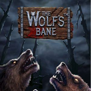 The Wolf's bane slot netent review logo