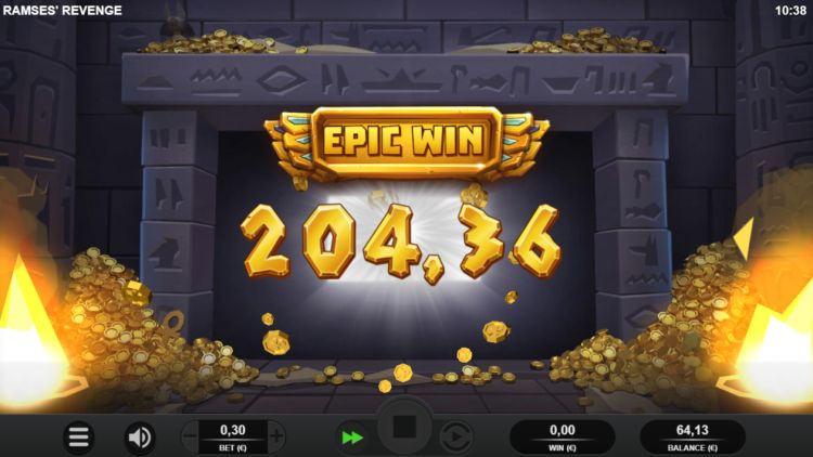 Ramses revenge slot review epic win